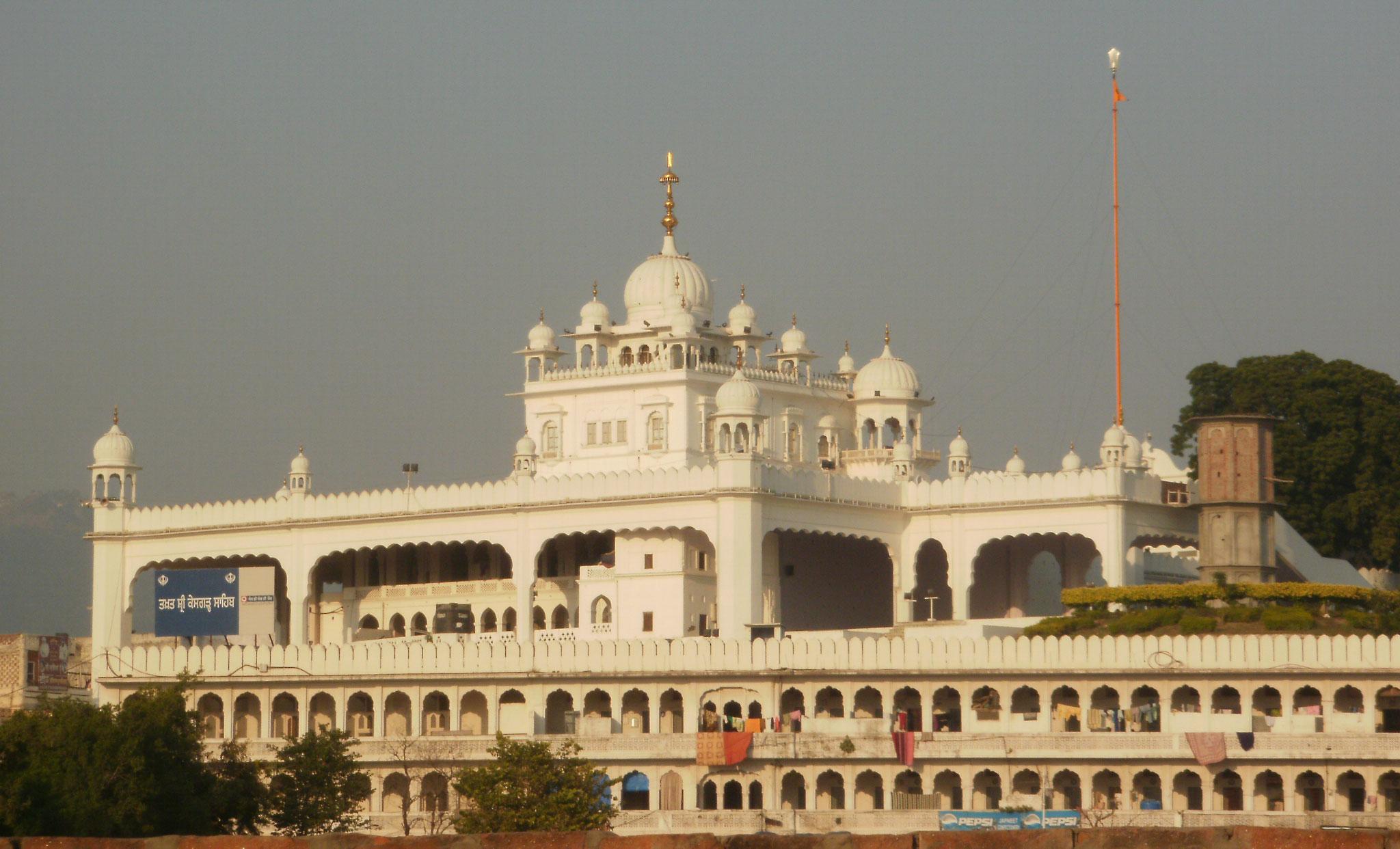 Anandpur Sahib - Gurudwara Anandpur Sahib - Keshgarh Sahib