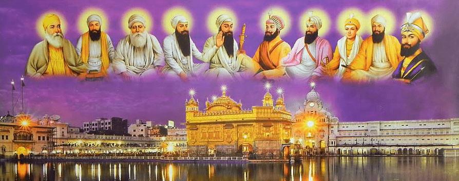 10 Gurus - Ten Sikh Gurus